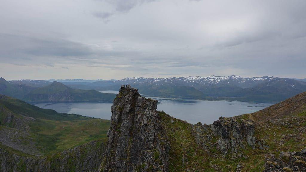uitzicht top husfjellet