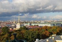Uitzicht Sint Petersburg