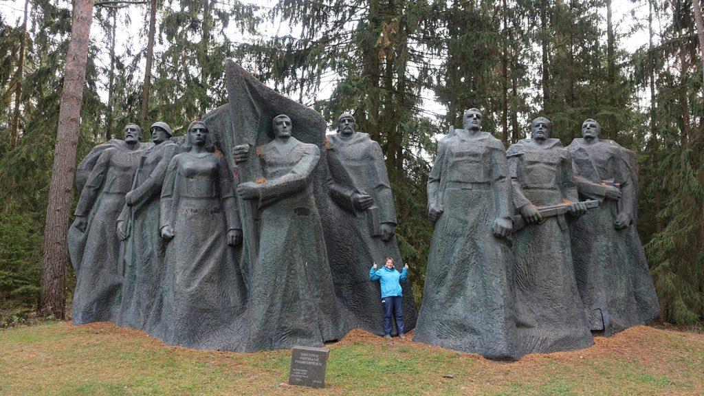old soviet statue
