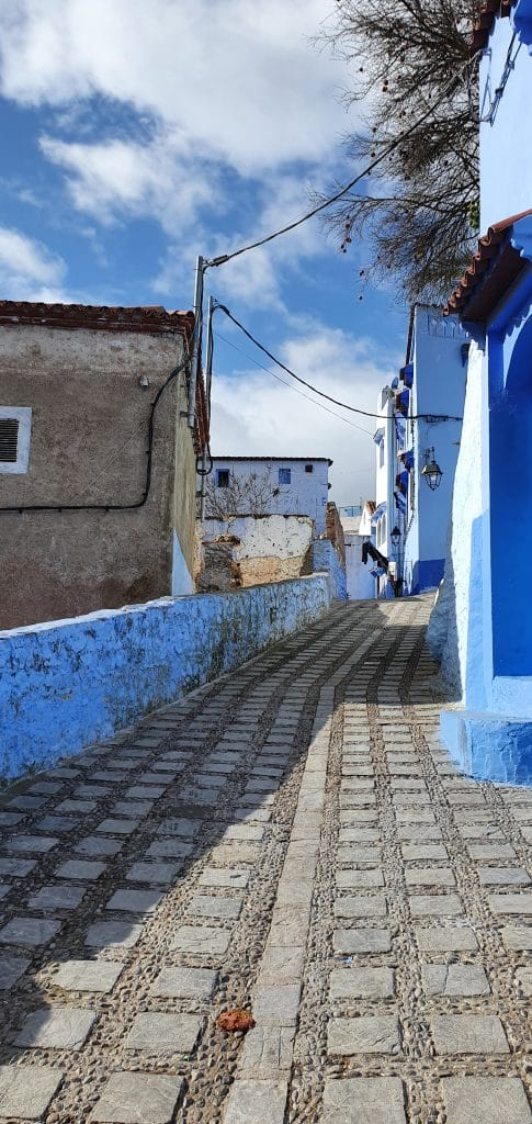 straat in chefchaouen
