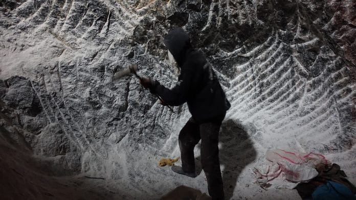 local who chops away salt