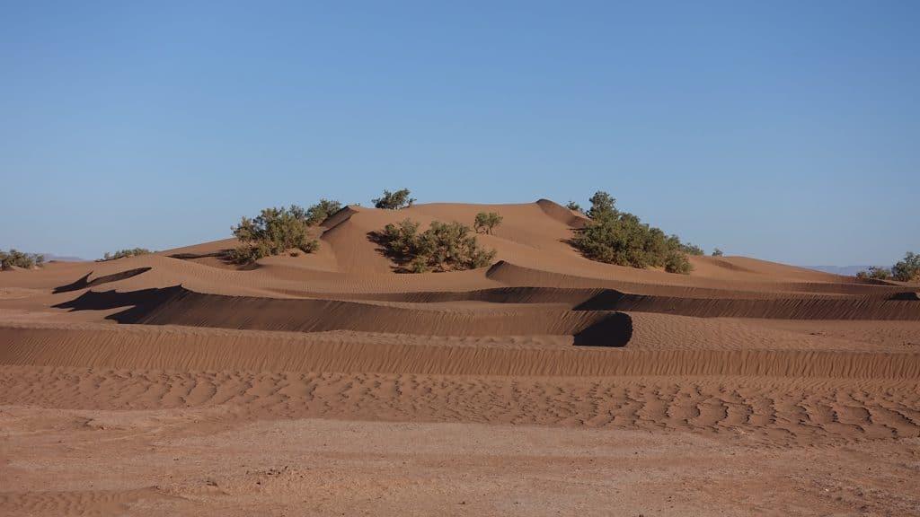 zandduinen in marokko