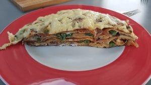 pannekoek groeten lasagne