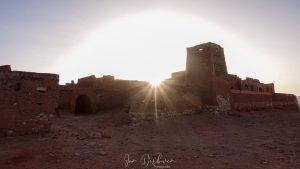 zonsondergang bij ksar