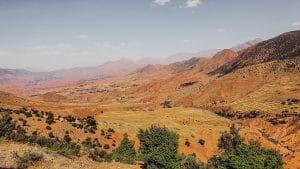 uitzicht op vallei