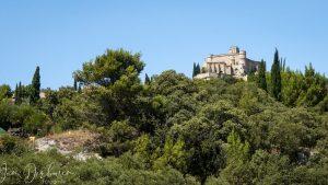 kasteel op een heuvel